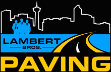 Image Graphic - Lambert Bros. Paving Logo